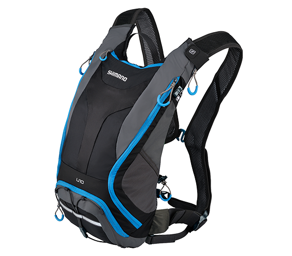 【7號公園自行車】SHIMANO UNZEN 10系列水袋背包 2016新款(水袋另購)