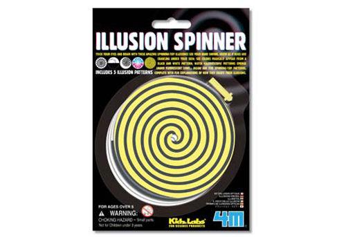 【4M 創意 DIY】Illusion Spinner 幻象陀螺