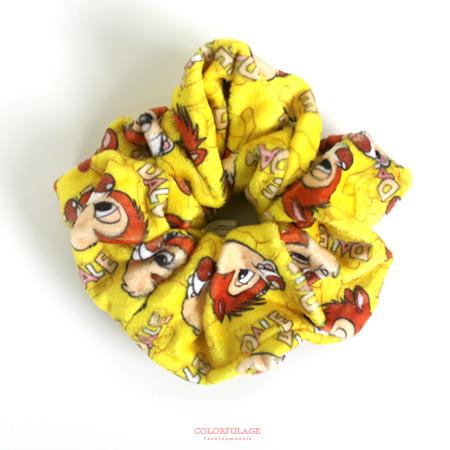 髮束 正版迪士尼Disney系列絨布髮帶/大腸圈/髮飾 女孩專屬 卡通圖案 柒彩年代【NS12】可愛小物