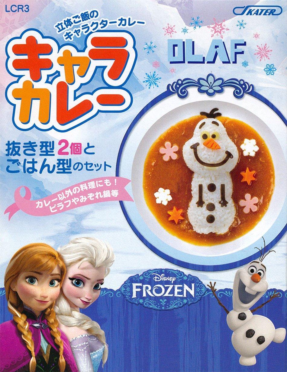 『日本代購品』冰雪奇緣-雪寶 簡易飯模具 多功能飯模 咖哩模 日本製