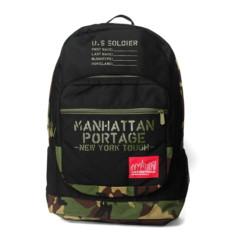 M1212US-STG 曼哈頓 Manhattan Portage  迷彩後背包