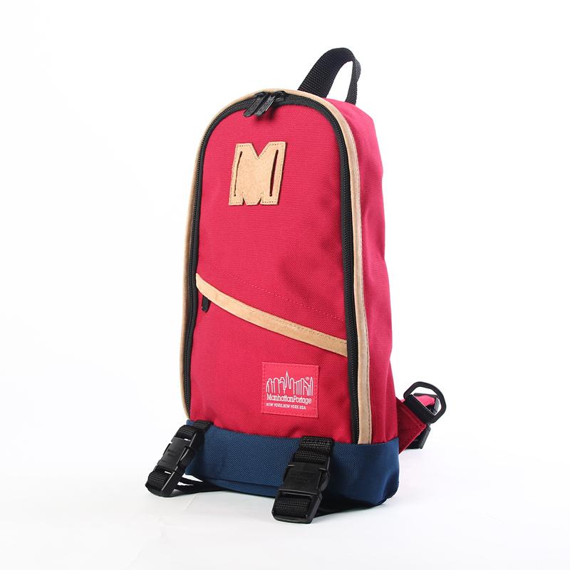 M1918  曼哈頓 Manhattan Portage 帆布單色單肩後背包 紅/藍/迷彩