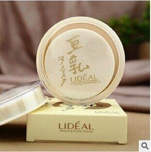 LIDEAL 豆乳粉餅 3色 附粉撲 【庫奇小舖】