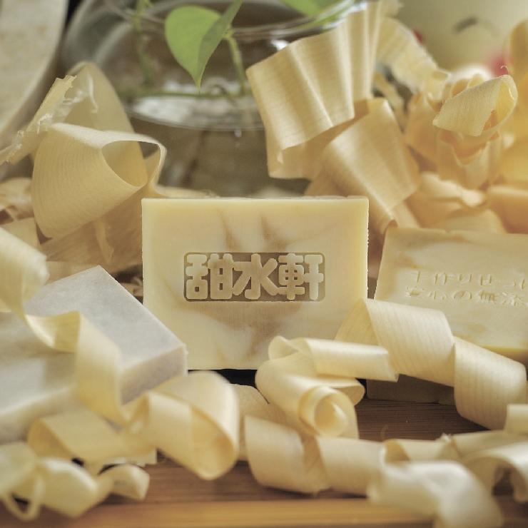 【甜水軒】親親寶貝沉香牛奶手工皂│♥天然無添加♥不含香精