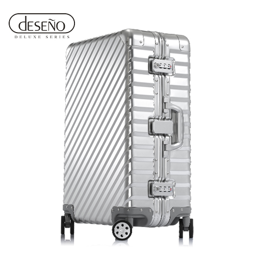 【加賀皮件】Deseno 鐵甲武士L'armatura 多色 輕量 鋁鎂合金 鋁框 旅行箱 28吋 行李箱 DL0569