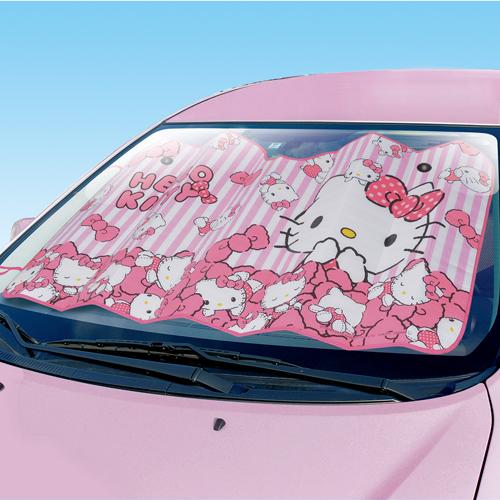 現貨【禾宜精品】前檔遮陽板 隔熱板 SEIWA KT481 Hello Kitty 凱蒂貓 車用 遮陽 隔熱 正版公司貨