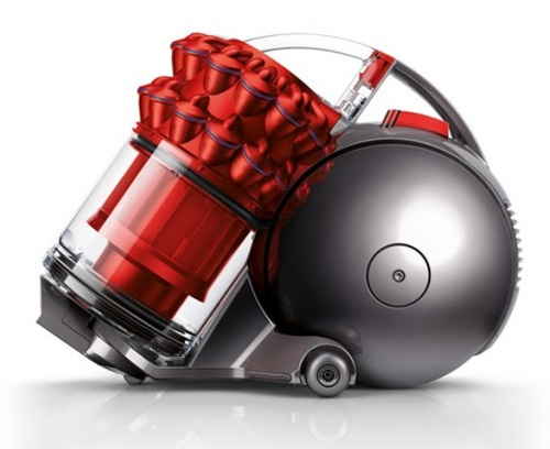 Dyson 圓筒式吸塵器 Ball fluffy+ CY24 (紅色) 【零利率】 贈U型吸頭※熱線07-7428010