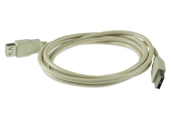 AviewS-USB2.0線材/2.0版/雙A Type/公對母頭