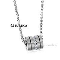 【GIUMKA】造型個性純鈦項鍊 鋯石/單個價格 附白鋼鍊