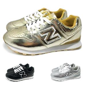 【巷子屋】Limitless利米堤司 女款韓風N字運動慢跑鞋 [1367] 金 超值價$298