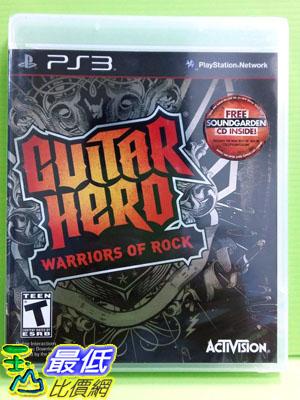 [刷卡價] 全新沒拆  PS3 吉他英雄 搖滾巨星 英文 亞版