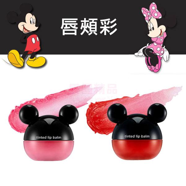 韓國 The Face Shop X Disney 聯名米奇唇頰彩 6g 粉色 紅色【特價】§異國精品§   女生聖誕交換禮物