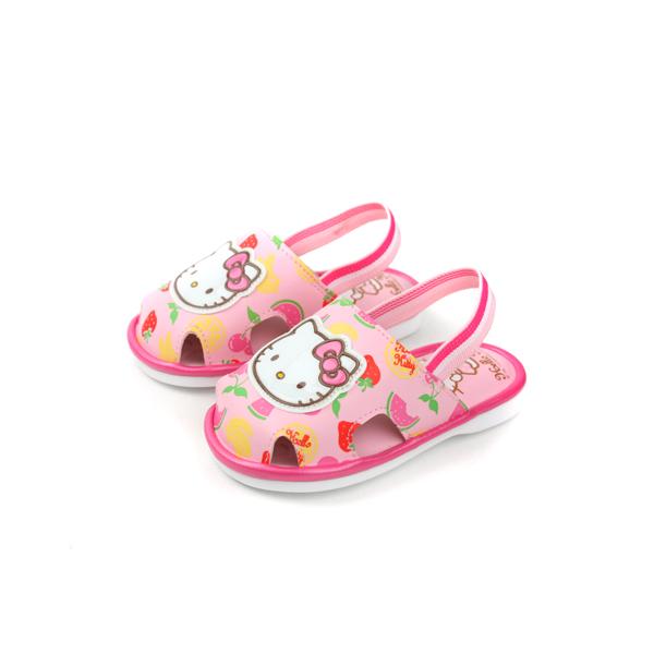 Hello Kitty 凱蒂貓 KITTY 涼鞋 粉 小童 no702