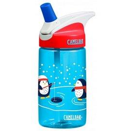 《台南悠活運動家》CAMELBAK 美國 400ML 兒童吸管運動水瓶 釣魚企鵝 CB53898