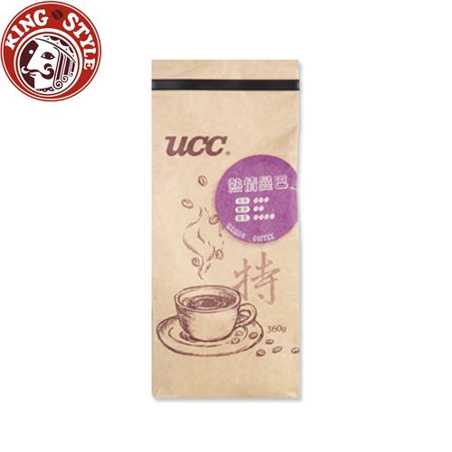 金時代書香咖啡【UCC】熱情曼巴咖啡豆360g