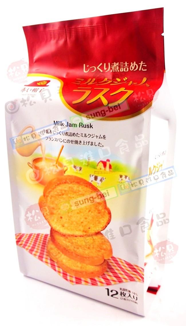 紅帽TIVON蜜糖烤吐司餅132g【4975186163763】