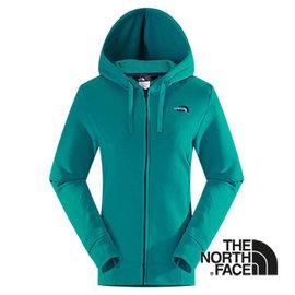 The North Face 女 LOGO 兜帽外套 海島綠 CS56