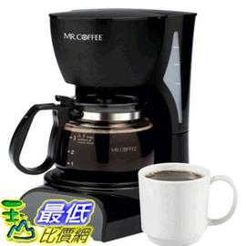 [104美國直購] [104美國直購] Mr. Coffee 咖啡大師 DR5 4-Cup Coffeemaker, Black 滴漏式 美式咖啡機 一鍵式智能沖泡 $1398