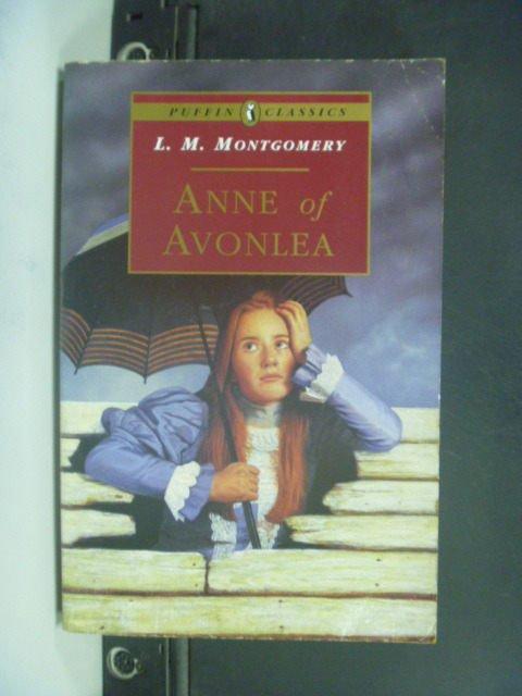 【書寶二手書T8/原文小說_JHT】Anne of Avonlea_Montgomery, L. M.