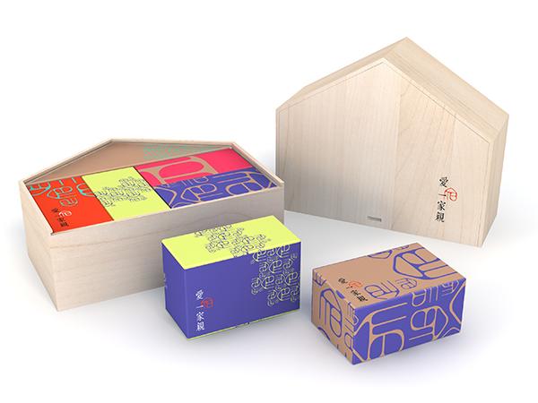 【愛一家親】萬象跟新木質禮盒/杏仁牛軋糖(原味、蔓越莓、抹茶)共120g/棗泥核桃糕/夏威夷果棗泥糕