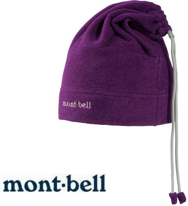 Mont-Bell 刷毛頸圍/保暖帽/登山毛帽/滑雪/旅遊 脖圍毛帽兩用 1108140 CV-C紫