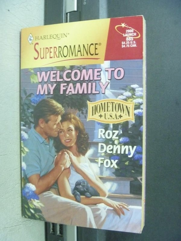【書寶二手書T9/原文小說_MCI】Welcome to my family_Roz/Denny/Fox
