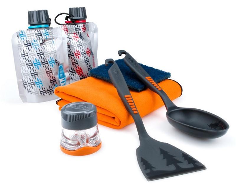 【鄉野情戶外專業】 GSI |美國|  廚具8件組-附網袋 露營用品 野外廚房 戶外廚房 _90101