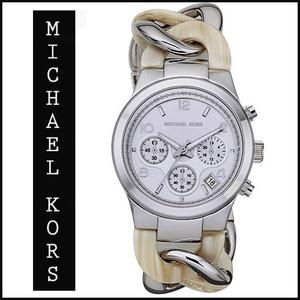 美國Outlet正品代購 MichaelKors MK 玳瑁三環 手鍊 手錶 腕錶 MK4263
