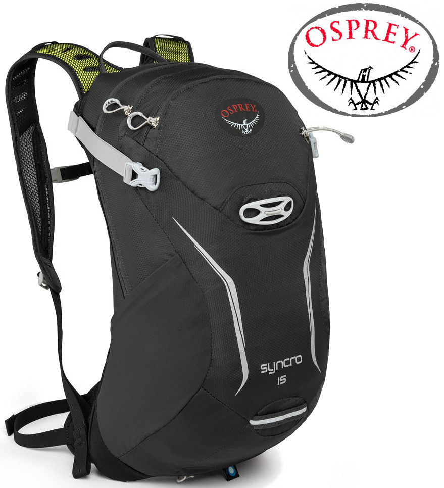 Osprey Syncro 15 登山背包/健行背包/單車包/水袋背包 磁石灰 附背包套 台北山水