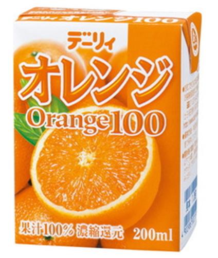 南日本酪農 100%柳橙汁 200ml