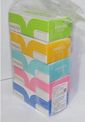 Nepia 迷你面紙(5盒)