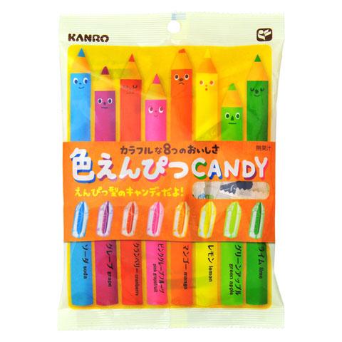 Kanro 彩色鉛筆糖