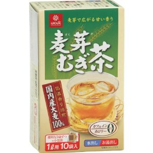 HAKUBAKU 麥芽麥茶包 10入