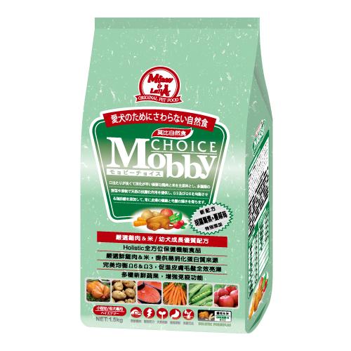 ★優逗★Mobby 莫比 小型 幼母犬  雞肉+米 3KG/3公斤
