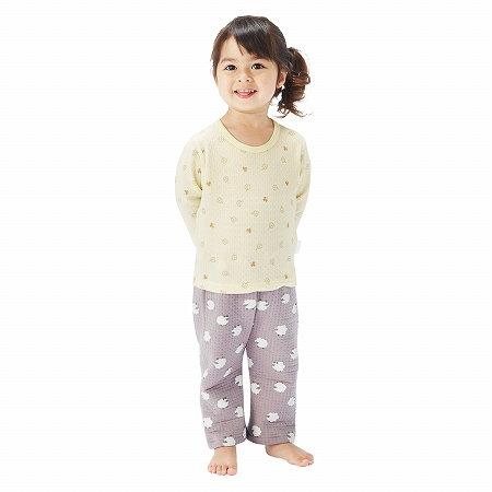【NISSEN】童裝|輕柔絎縫長袖內衣