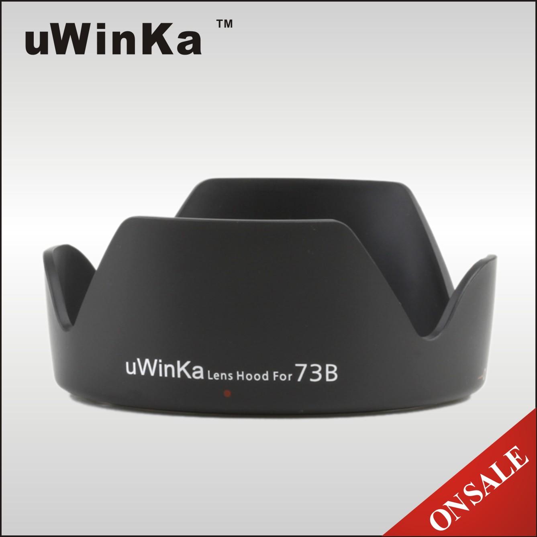 又敗家@uWinka副廠Canon遮光罩EW-73B遮光罩(可反扣倒裝倒接Canon副廠遮光罩相容佳能正品CANON原廠遮光罩EW-73B太陽罩)EW73B遮光罩適EF-S 17-85mm F4-5.6 IS USM 18-135 F3.5-5.6 STM F/4-5.6 F4.0-5.6 F/3.5-5.6 kit鏡kits鏡EW73B遮光罩遮陽罩遮罩lens hood