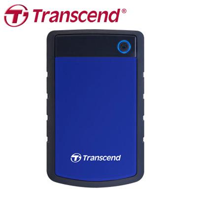 創見 Transcend 外接式硬碟 H3P 1TB USB3.0 藍色 / 個