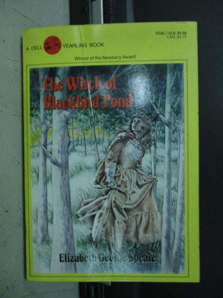 【書寶二手書T6/原文小說_LOJ】The witch of blackbird_Elizabeth George