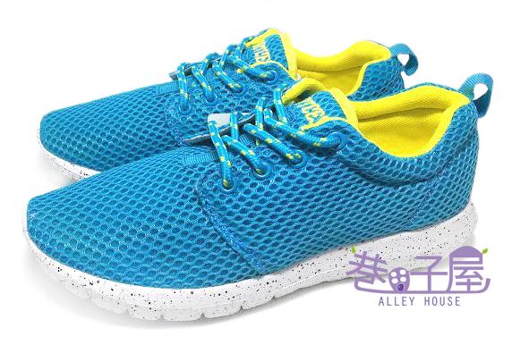 【巷子屋】Limitless利米堤司 女款大網透氣超輕量慢跑鞋 [1365] 藍 超值價$298