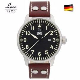 德國原裝進口 Laco 朗坤 861807 飛行員系列 男士石英錶