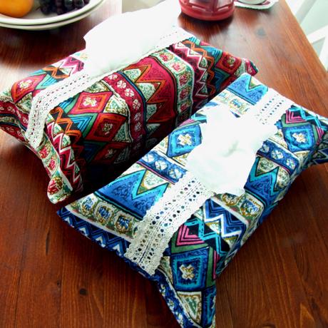 【露營趣】中和 TNR-117 波希米亞北歐民族風 面紙袋 面紙盒套 衛生紙套 居家露營增添質感