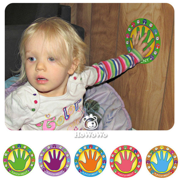 懲罰手掌貼 - 按著手掌貼反省思過 3枚入SS0132