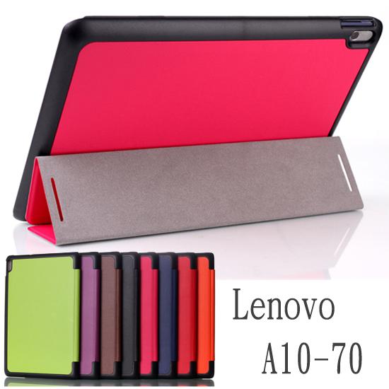 【三折斜立】聯想 Lenovo A10-70/A7600/A10-80/A7800 10.1吋平板卡斯特側掀皮套/翻頁式保護套/保護殼/立架展示