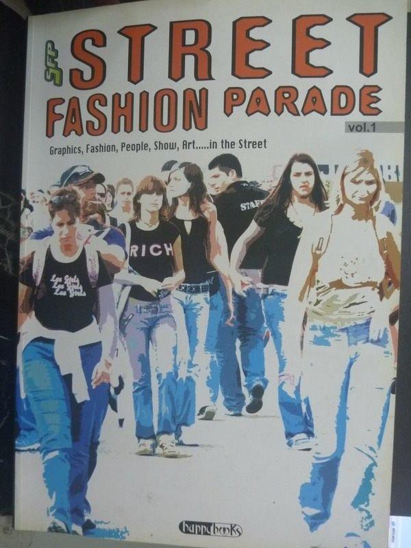 【書寶二手書T2/廣告_ZKK】Street fashion parade_Papazzoni
