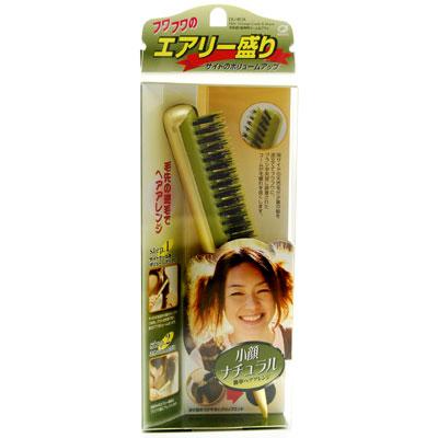 日本IKEMOTO池本造型整髮梳/小顏變髮天然豚毛梳CHA-850(日本製)