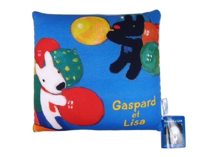 Gaspard et Lisa造型顆粒抱枕/午安枕/靠枕(小)