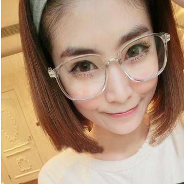日韓歐美配件造型 平光眼鏡 眼鏡框 男女適用 眼鏡架 時尚黑豹紋-5色