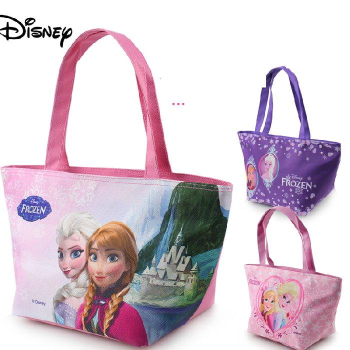 正版Disney 迪士尼冰雪奇緣系列兒童手提袋手提包便當袋