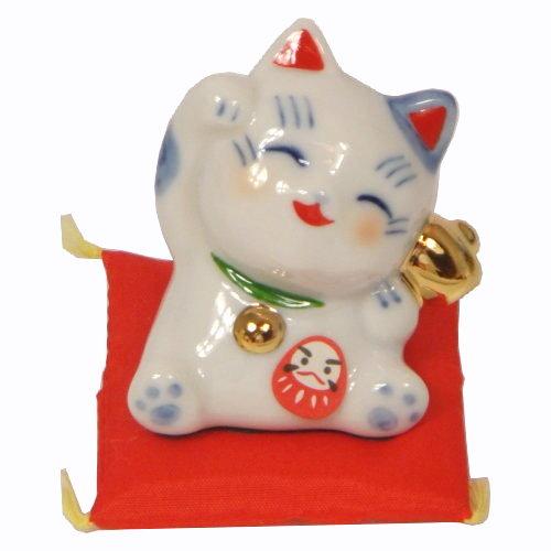 日本製 日本原裝 藥師窯系列 八起招財貓 7780