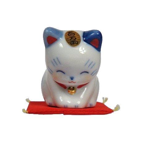 日本製 日本原裝 藥師窯道招財貓/百萬兩貓 7781